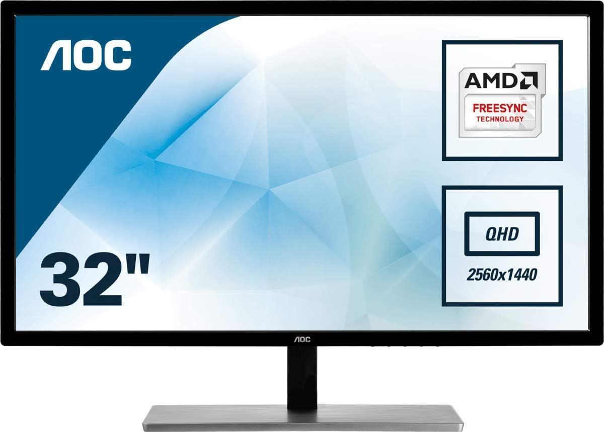 AOC 9 Inch Q979VWF QUAD HD Multimedia monitor VGA/DVI/HDMI/Display Port  Monitor 9Hz, 9Ms