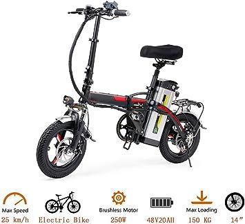Liu Yu·casa creativa Bicicleta Eléctrica Urbana, 400W 20Ah Ebike ...