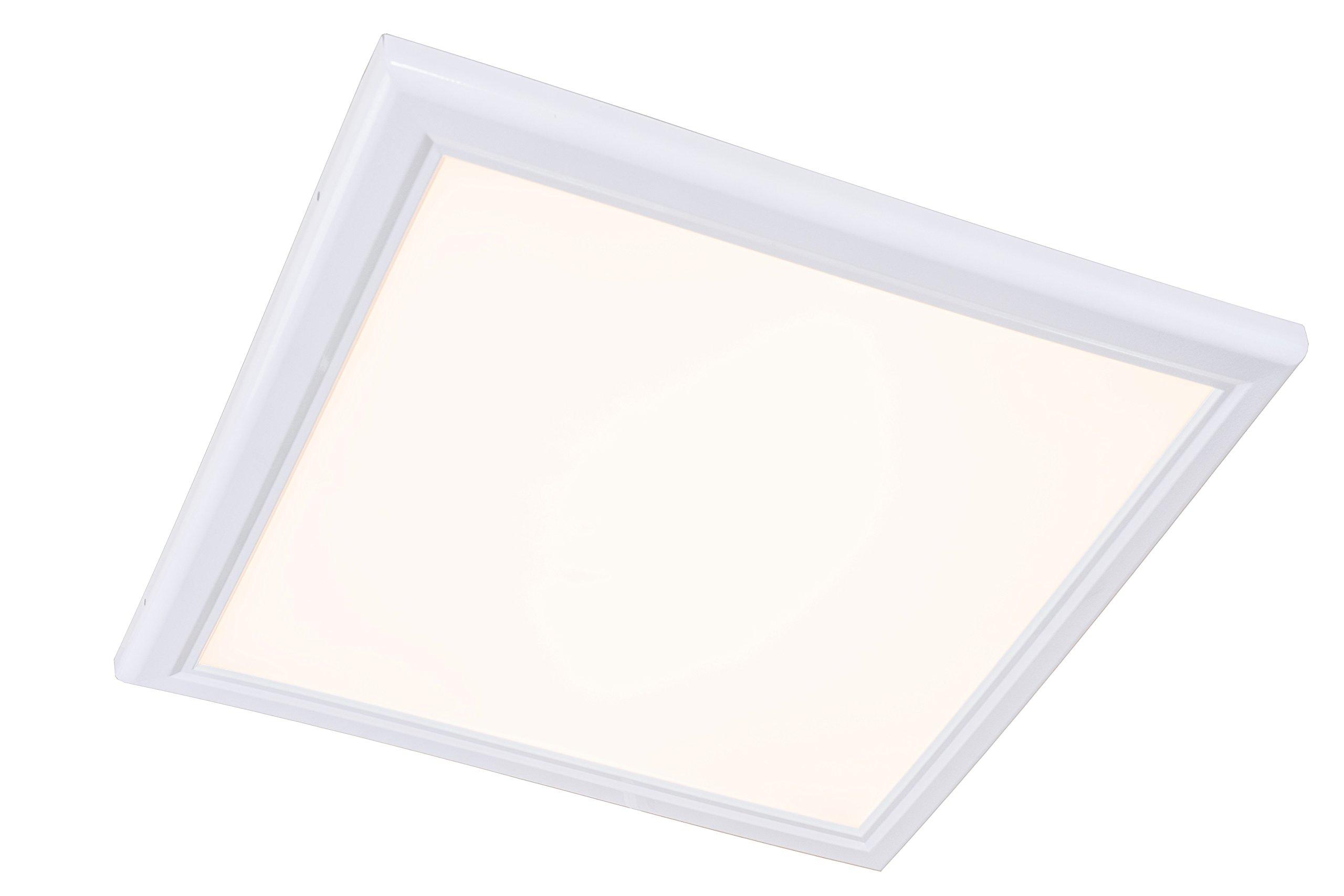 2'X2' LED Flat Panel Flush Mount Troffer Light Fixture Warm 2700K 60Watt 110-277V