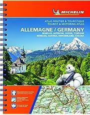 Michelin Germany - Benelux - Austria - Switzerland - Czech Republic Road Atlas(Eng/Fr)