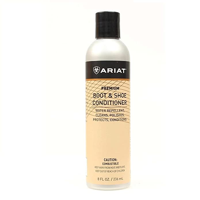 Amazon.com: Ariat Unisex Shoe Conditioner Beige OS: Shoes