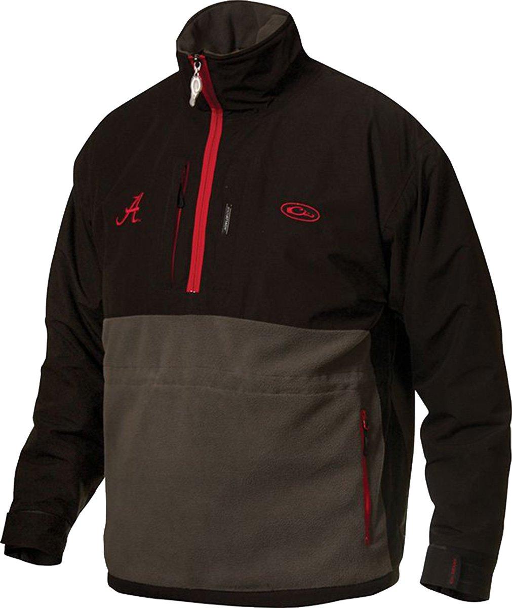 Drake Waterfowl University Of Alabama Eqwader 1/4 Zip Jacket-medium by Drake Clothing Company