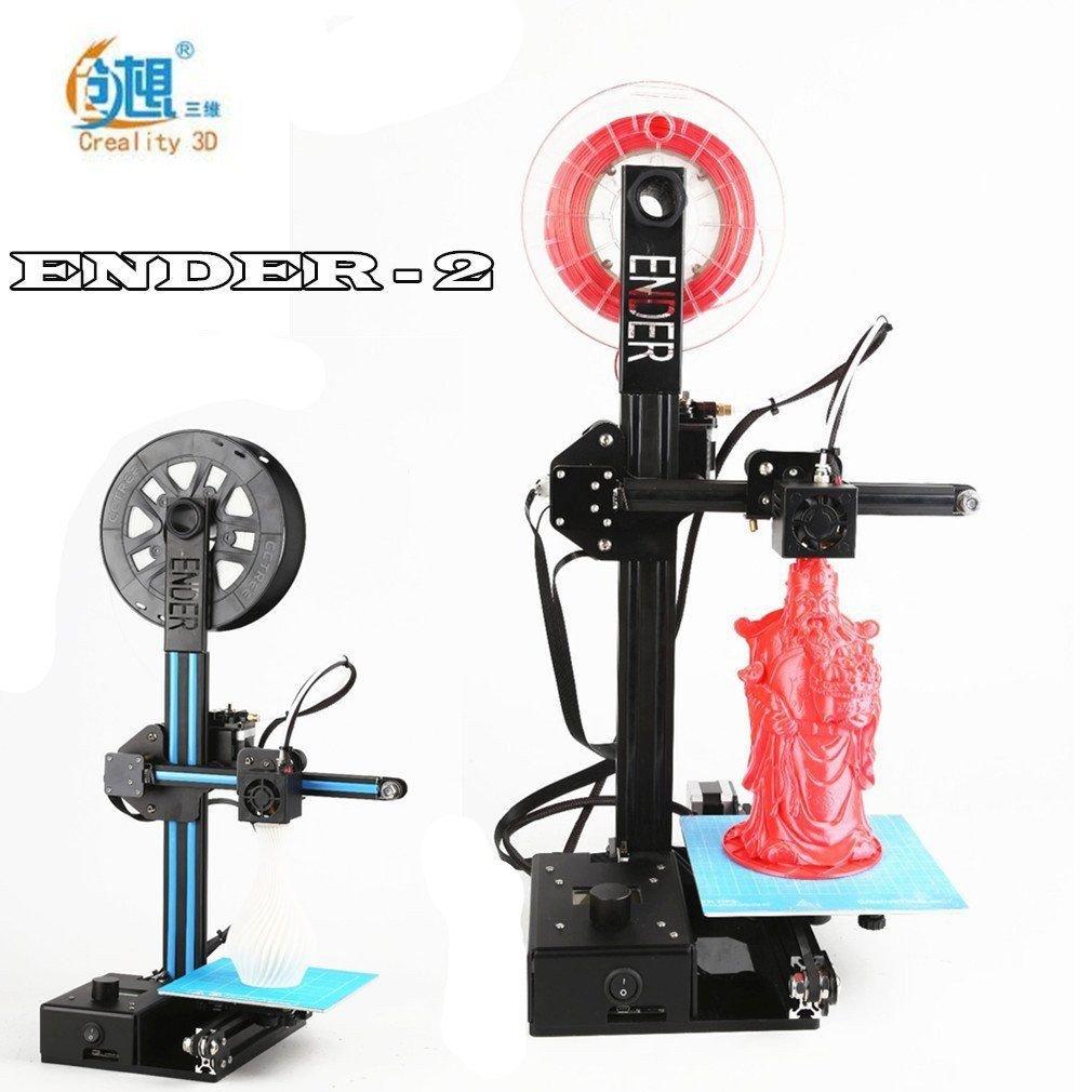 CREALITY 3D Ender-2 Metal frame machine Reprap prusa i3 3d printer 3d drucker Mini 3D Printer kompakte und beliebte Drucker mit hervorragenden Druckergebnissen CREALITY-Ender2