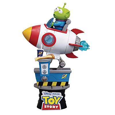 Beast Kingdom Toy Story: Alien Coin Ride Ds-036 D-Stage Series Statue: Toys & Games