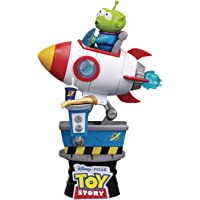 Toy Story: Alien Coin Ride Ds-036 D-Stage Series Statue, Multicolor