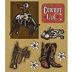 K&company Cowboys Sticker Medley