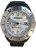 Immersion - IM6993 - Montre Homme - Automatique Analogique - Cadran Gris - Bracelet Plastique Noir