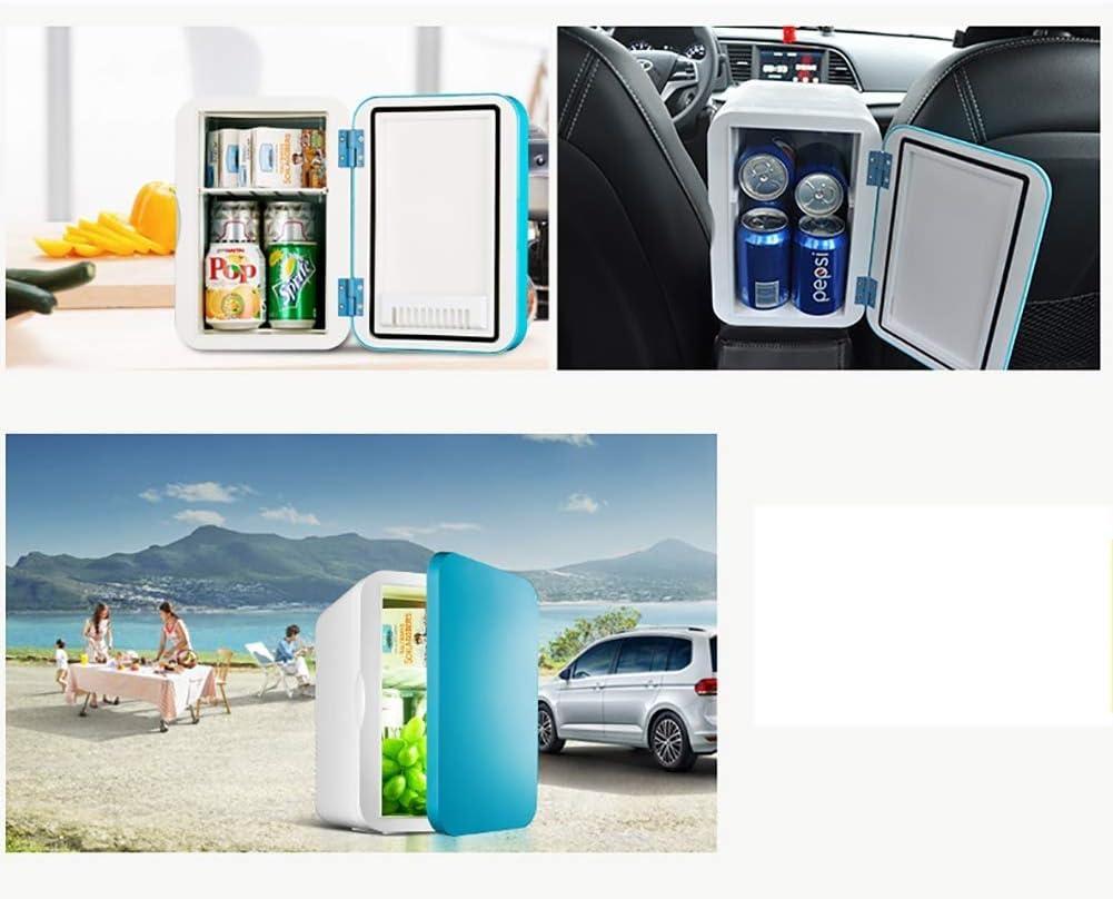 LCLZ Mini Refrigerador Frigorífico Eléctrico, Termoeléctrico, Silencioso, De Bajo Consumo, Mini Refrigerador Portátil, Blanco, 8L: Amazon.es: Hogar