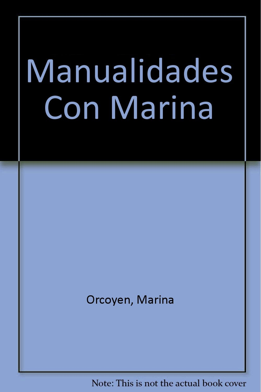 Manualidades con Marina pdf epub