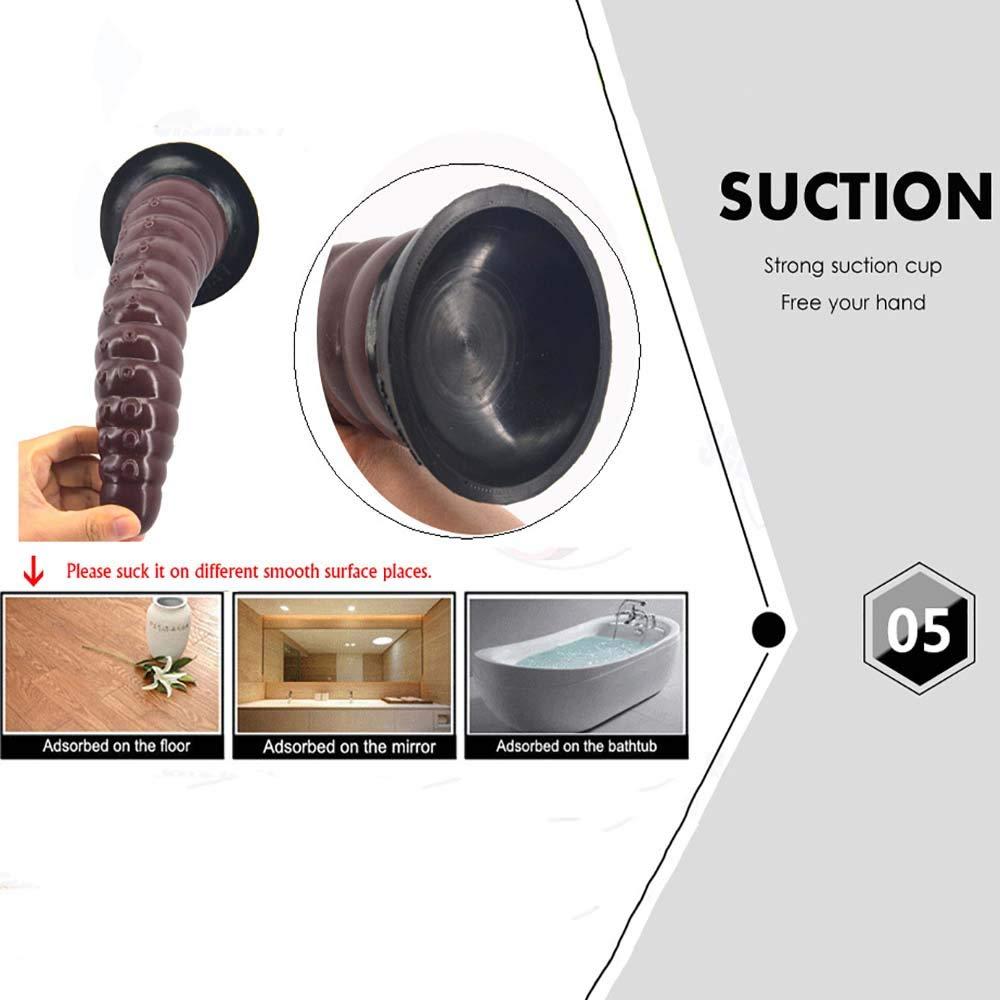 MPLMM Productos para Adultos Juguetes Sexuales Femeninos Masajeador Orgasmo Empuje Masajeador Femeninos Equipo De SimulacióN Silicona Anal Plug Unisex (Color: Color De La Piel) abf977