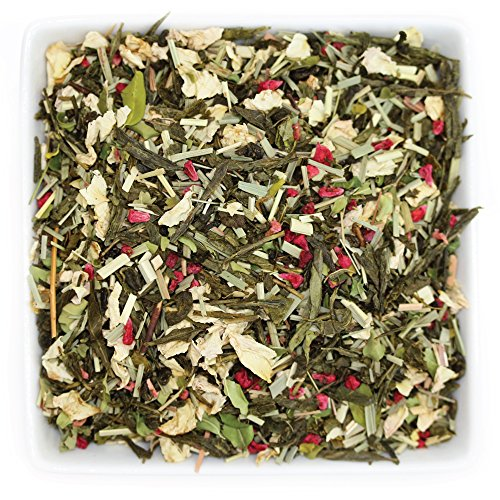 Rose Flavored Tea - Tealyra - Moringa Raspberry Rose - Lemongrass - Flavored Green Loose Leaf Tea - Very Healthy Tea Blends - Rich Taste Fruit and Floral Tea - Low Caffeine - 112g (4-ounce)