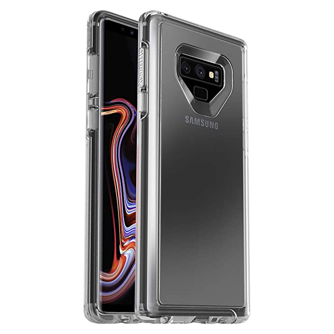 promo code 04c71 c9dc2 OtterBox Symmetry Clear Series Case for Samsung Galaxy Note9 - Frustration  Free Packaging - Clear