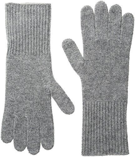 Marc Jacobs Women's Classic Cashmere Gloves In Grey, One Size