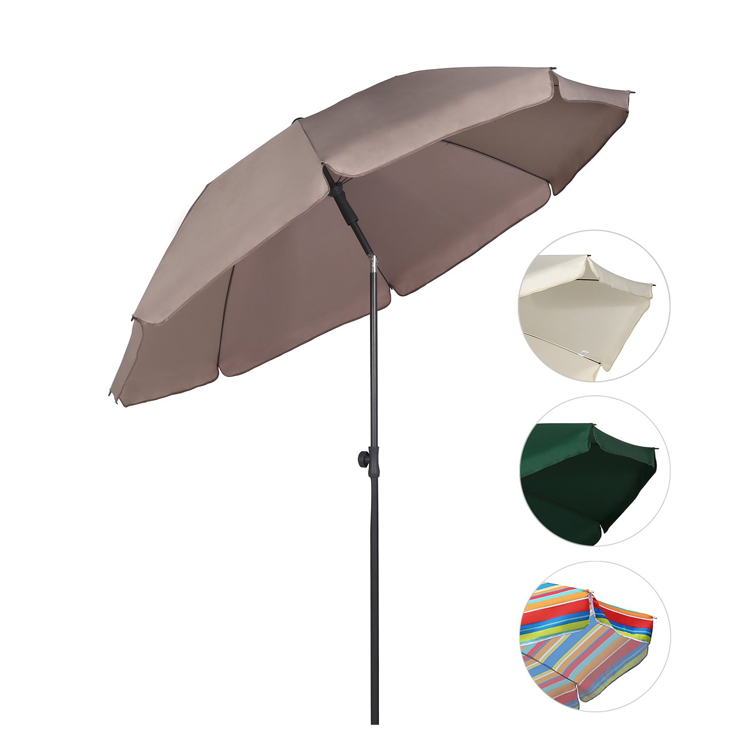 Impressionnant De Parasol Rectangulaire Inclinable