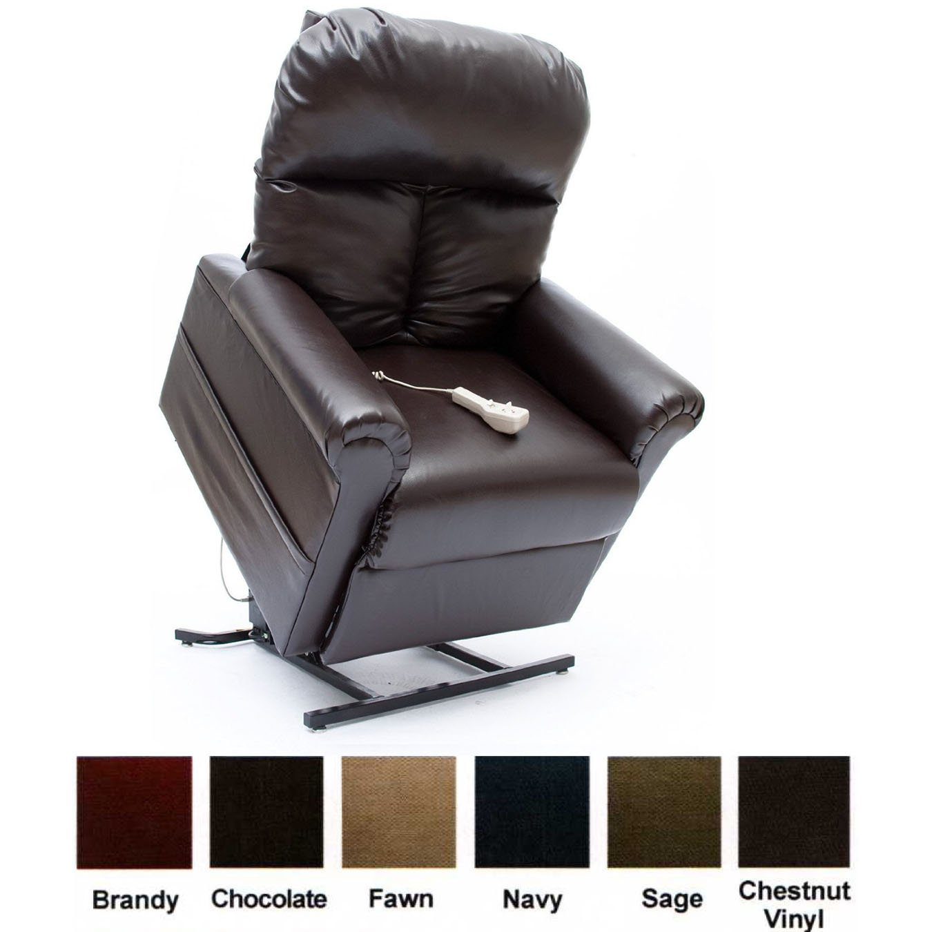 amazoncom mega motion power easy comfort lift chair lifting recliner lc100 infinite position rising electric chaise lounger fawn tan color fabric