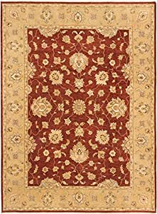 "Ecarpetgallery Hand-knotted Chobi Twisted Open Field 9'0"" x 12'0"" Orange 100% Wool area rug"