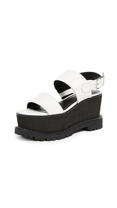 5f19fba60f95 Amazon.com  KENDALL + KYLIE Women s Cady Platform Sandals  Shoes