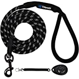 Tifereth Dog Leashes for Medium and Large Dogs Mountain Climbing Rope Dog Leash 6 ft Long Supports The Strongest Pulling…