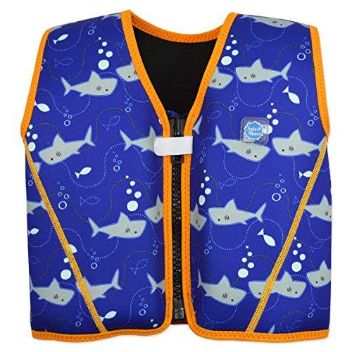Splash About Kids' Go Starter Float Jacket - Shark Orange, 1-3 Years