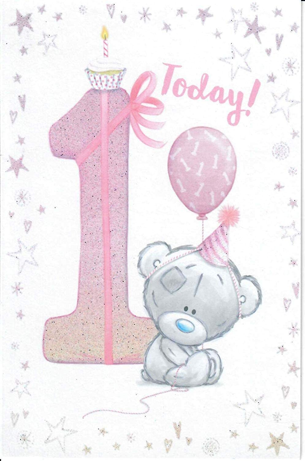 Me To You 30 Today Girl's First Birthday Card