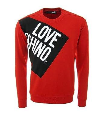 Kleidung & Accessoires New Moschino Herren Sweatshirt Größe L Sport-kapuzenpullis & -sweatshirts