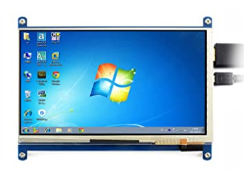Waveshare 7 inch 1024*600 Capacitive Touch Screen LCD Display HDMI