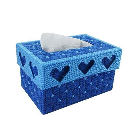 L&Y Cajas DIY europeo personalizado creativo 3D punto de costura dormitorio sala de estar linda caja