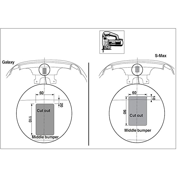 Brink 478200 Fixed Swan Neck Tow Bar Ford Galaxy 20062015: Ford Focus Mk1 Towbar Wiring Diagram At Hrqsolutions.co