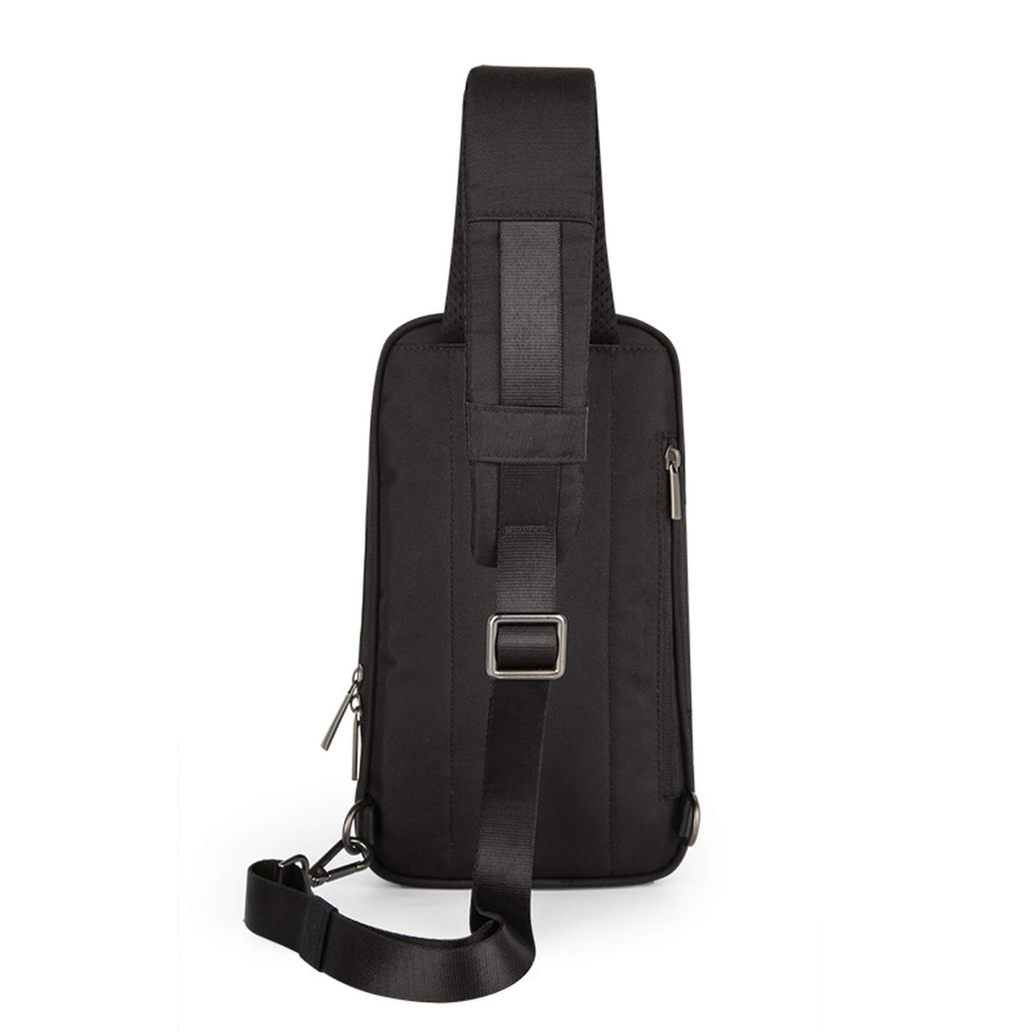 Men Crossbody Bags Messenger School Sling Chest Bags For Work Water Resistant Cross Waist Shoulder Bag