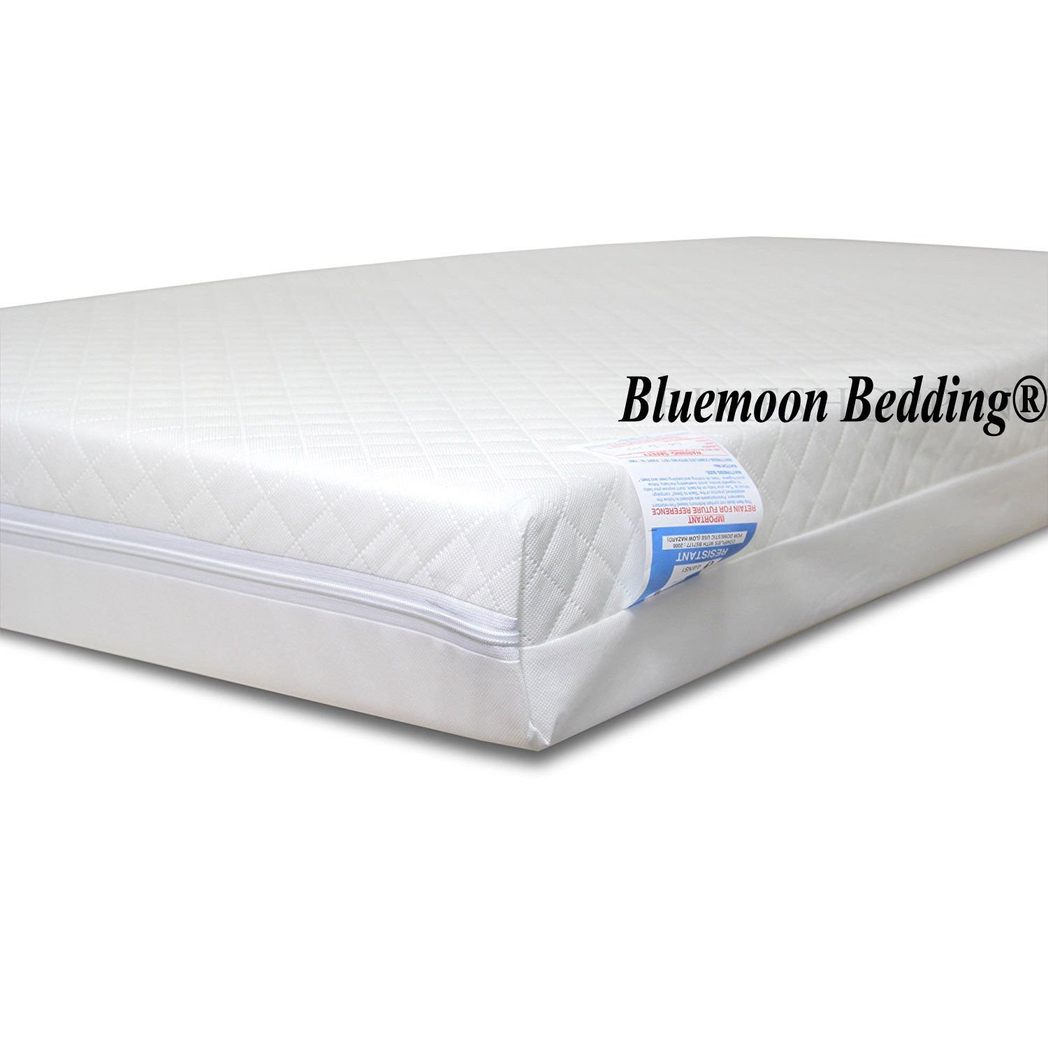 95 x 65 x 10 cm Fully Breathable Standard Travel Cot Mattress