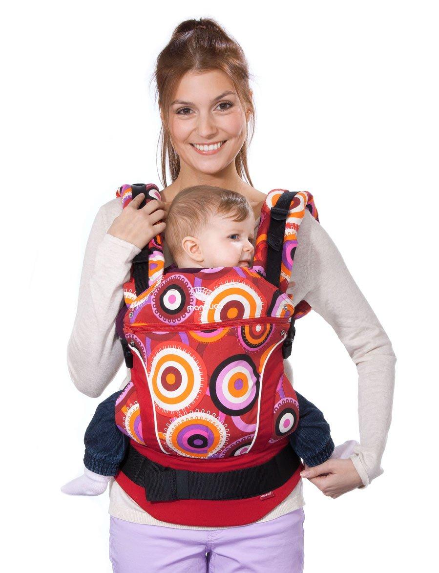 Manduca Baby- und Kindertrage CircadelicWine (Limited Edition)