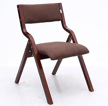 silla plegable Sillas de madera plegables Sillas de comedor de ...