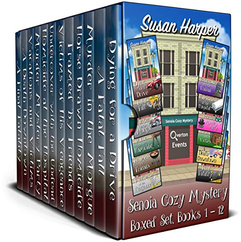 Senoia Cozy Mystery Boxed Set: Books 1 - 12 by [Harper, Susan]