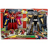 power rangers rpm megazord toys - Power Rangers Deluxe 2 in 1 Epic Megazord Gift Set - Dino Charge and Ptera Charge
