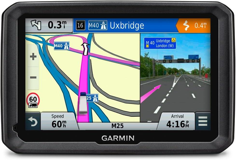 Reconditionn/é Certifi/é Cartes Europe 45 Pays 7 Pouces GPS pour Poids Lourd Cartes et Trafic gratuits /à Vie Garmin Dezl 770 LMT-D