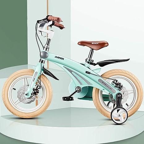 TSDS Bicicleta para niños Bicicleta de Moda Bicicleta roja/Azul/Verde/Rosa para Exteriores Bicicleta de montaña de 12 Pulgadas / 14 Pulgadas / 16 Pulgadas: Amazon.es: Deportes y aire libre