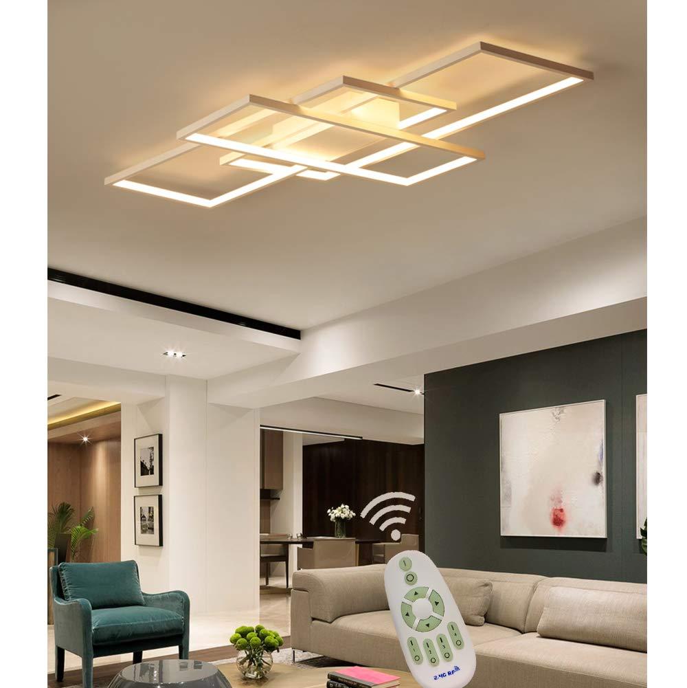 LED Deckenleuchte Wohnzimmer lampen Dimmbar Deckenlampe ...