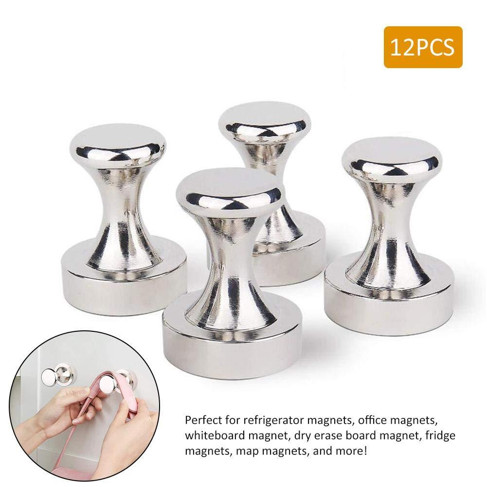 Magnetische Haken 12 ST/ÜCKE D20 25 Runde Gro/ße Metall Magnetische Pushpin Magnet Metallnagel