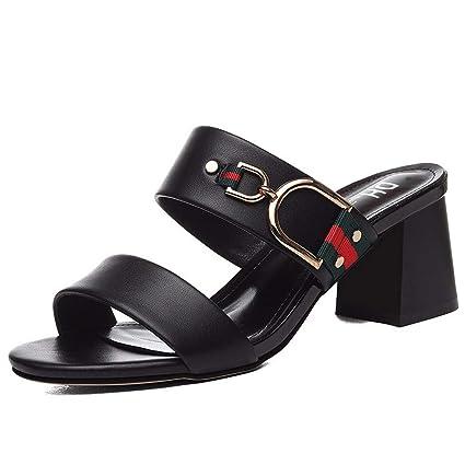 KPHY Zapatos de Mujer/En Verano Metal Moda Ocio Tipo de Letra de Mujeres de
