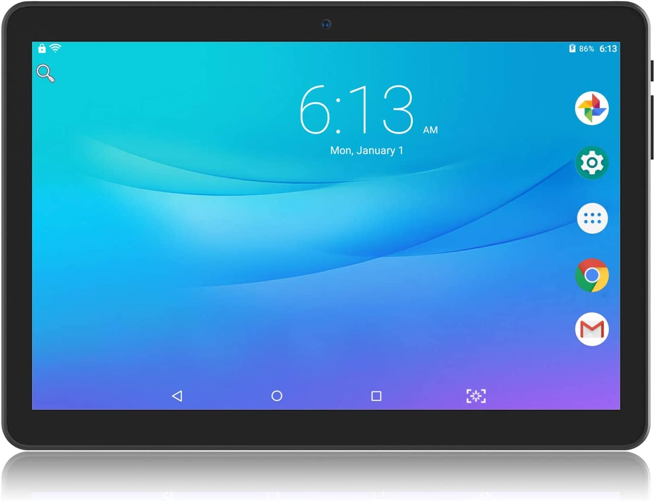 Lectrus Tablet 10 inch Android 9.0 Oreo, 2GB+32GB WiFi Tablet PC, Dual Camera, Quad Core Processor, 1280x800 IPS HD Display,TF Card Slot,Support OTG,USB, GPS,Bluetooth,FM
