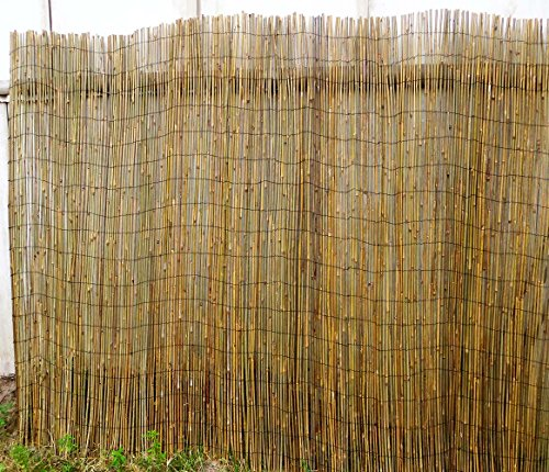 Master Garden Products Woven Bamboo Rolled Fence 8'L x ()