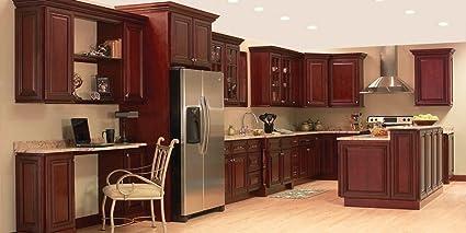 Amazon Com 10 X 10 Kitchen Cabinets Alex Brandywine