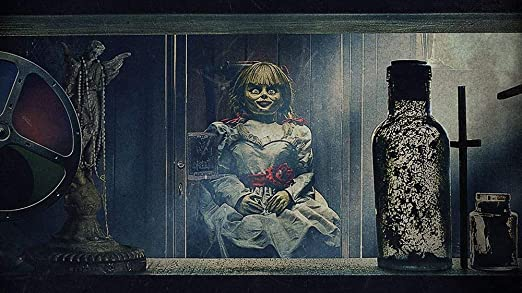 printdesign Annabelle Comes Home - Movie Poster Wall Decor ...