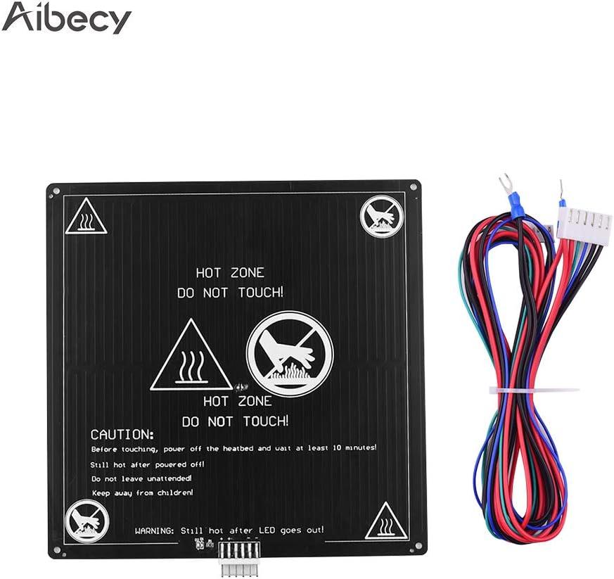 Aibecy Cama con calefacción de aluminio 12 V Cama caliente 220 ...