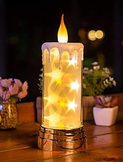 Weihnachtsdeko Baby.Amazon Com Led Candle Lights Flammenlose Kerzen Flackernde Led