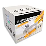 Craftsboys Tile Leveling System 1/16'', 300PCS Clips, 100PCS Wedges, with Pliers (1.5MM 300+100+Pliers) (Color: 1.5mm Set with Plier)