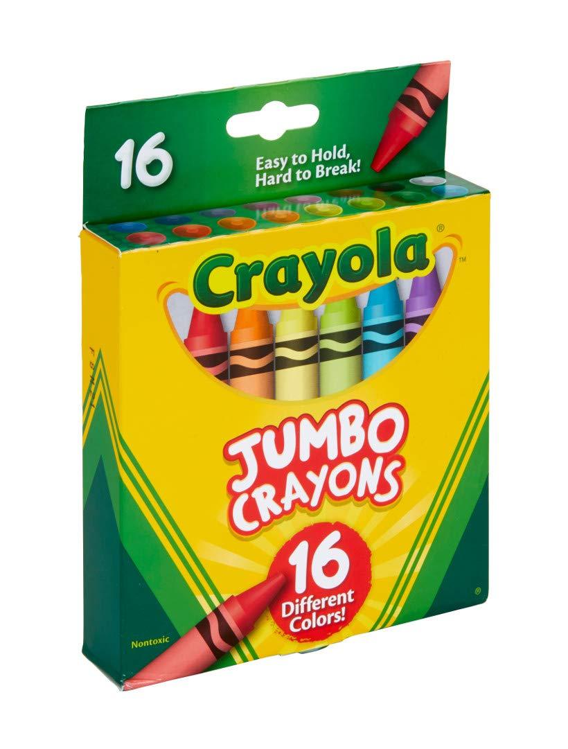 Crayola Jumbo Crayons 16Count, Multicolor by Crayola (Image #5)