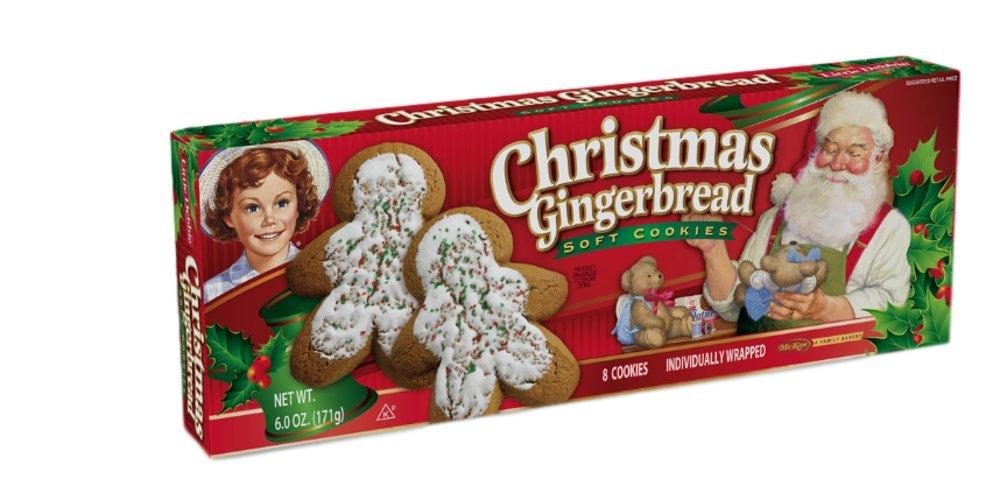 Amazon.com: Little Debbie: Gingerbread Cookies (3 Boxes)