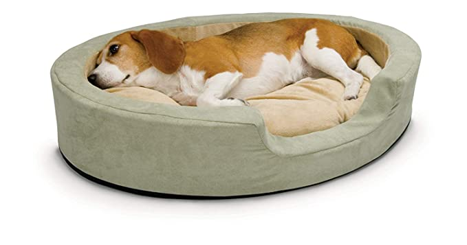 Amazon.com: K & H-Thermo Snuggly Sleeper - Cama para perro ...