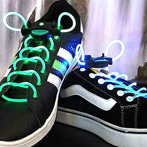 2 LED-Leuchtschnürsenkel für Sportschuhe 2216